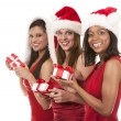 Group of christmas women — Stock Photo #32445261