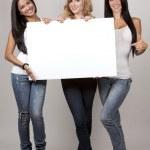 Three casual women — Stock Photo #32840253