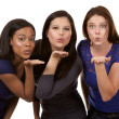 Group of casual women — Stock Photo #33466733