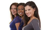 Group of casual women — Stock Photo