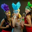 Group of women partying — Stock Photo #33604953