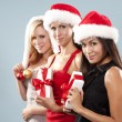 Group of christmas women — Stock Photo #33968851