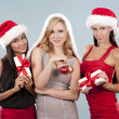 Group of christmas women — Stock Photo #33968901