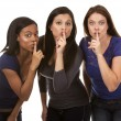 Stock Photo: Group of casual women
