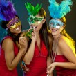 Group of women partying — Lizenzfreies Foto
