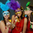 Group of women partying — Stockfoto #35515879