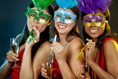 Group of women partying — Photo
