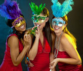 Group of women partying — Stok fotoğraf