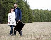 Casual couple — Stock Photo