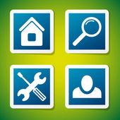 Vector web icons — Wektor stockowy