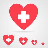 Vector health care icon — Stock Vector