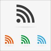 Vector signal icon — Stock Vector