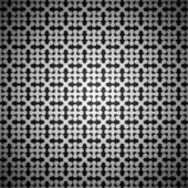 Black and white abstract seamless background pattern — Vetor de Stock