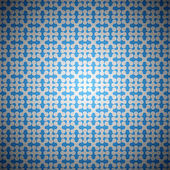 Blue seamless abstract pattern — Stock Vector