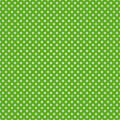 Green woven background pattern — Stock Vector