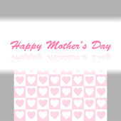 Background for mother's day celebration — Stock Vector