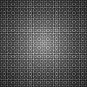 Black and white seamless ornament background pattern — Stock Vector