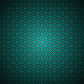 Turquoise abstract seamless background pattern — Stock Vector