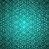 Turquoise clean seamless vintage background pattern — Stock Vector
