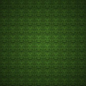 Green carbon or cloth background pattern texture — Stock Vector