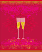Pozvánka na narozeniny koktejlový večírek — Stock vektor