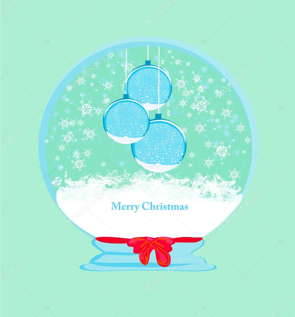 Christmas Framework style card  — Stock Vector #12115672