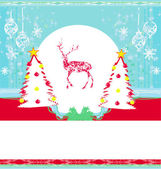 Reindeer design — Stock Vector