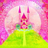 Magic Fairy Tale Princess Castle — Stock Photo
