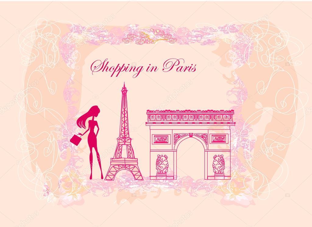 Mujeres Hermosas De Compras En Paris