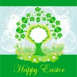 Royalty-Free Stock Vector Image: Easter tree frame