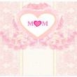 Happy Mother's Day - Lovely Greeting Card — Stock Vector #21352299