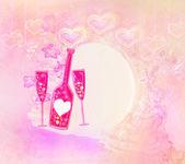 Invitation To Birthday Cocktail Party — Stock Photo