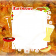 Barbecue Party Invitation — Stock Photo