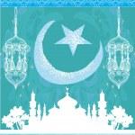 Abstract religious background - Ramadan Kareem Vector Design — Stock Vector #30333277