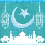 Abstract religious background - Ramadan Kareem Vector Design — Stock Vector