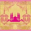 Abstract religious background - Ramadan Kareem Vector Design — Stock Vector #30333359