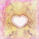 cute Walentynki karty z Aniołki — Zdjęcie stockowe