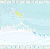 圣经 》 现场-在伯利恒耶稣的诞生. — 图库矢量图片