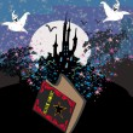 Black Magic Book — Stock Vector