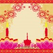 Abstract diwali celebration background, vector illustration — Stock Vector #45010955