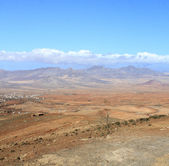 Mountain scenery landscape, Fuerteventura, Spain  — Stock Photo
