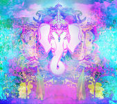 Diwali Ganesha Design  — Stock Photo