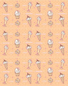 Coffee and cakes seamless background pattern — Photo