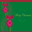 Christmas Framework style card — Stock Photo #9670948