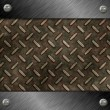 Foto de Stock  : Diamond plate