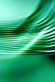 Green wave — Stock Photo