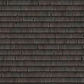 Red roof texture — Stock Photo