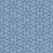 Blue floral pattern — Stock Photo
