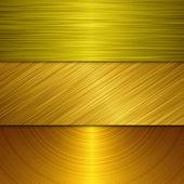 Zlatý kov — Stock fotografie