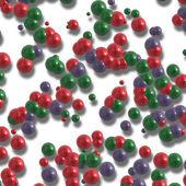 Molekyl bakgrund — Stockfoto